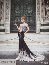 Evening Dress: Sans Pareil Collection 2017: V-002